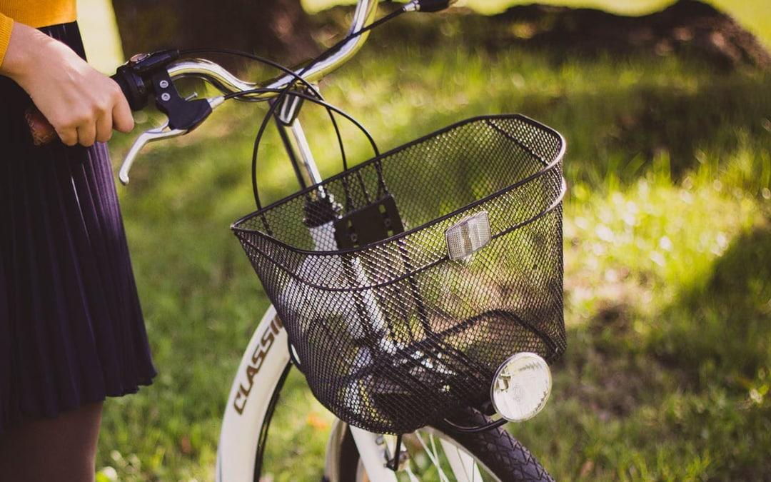 Fahrrad Korb hinten Gepäckträgerkorb Einkaufskorb Fahrradkorb abnehmbar schwarz