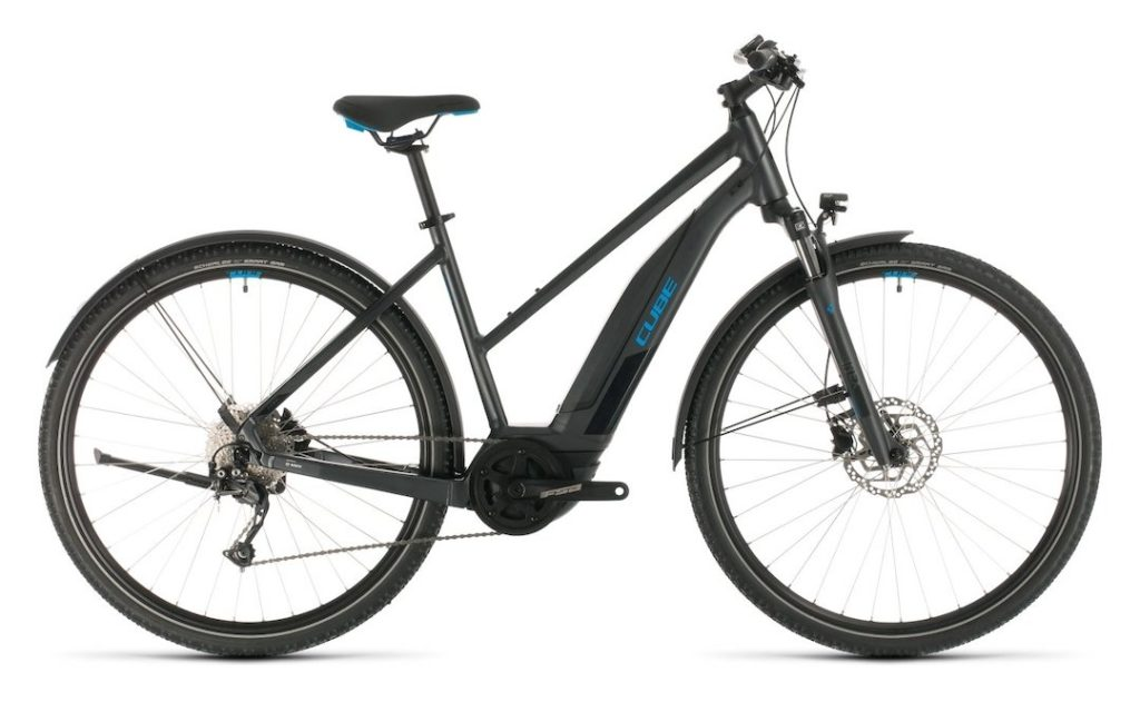 cube nature hybrid 500 e-crossbike