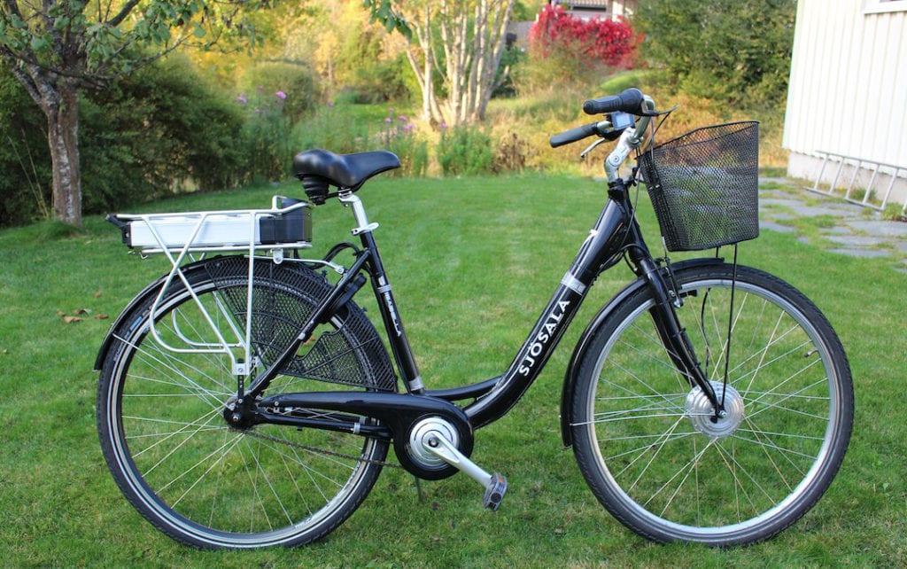 E-Bike Wiese