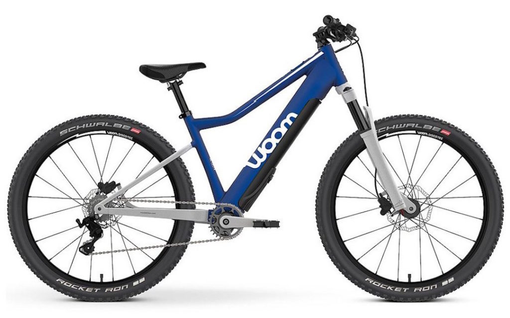 Woom E-Mountainbike