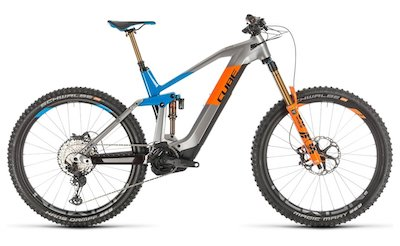 Cube Stereo Hybrid 160 HPC Actionteam 625 E-Bike Fully