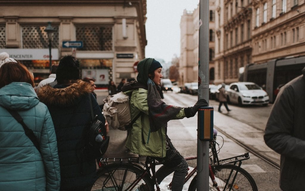 Fahrradjacke Damen Winter