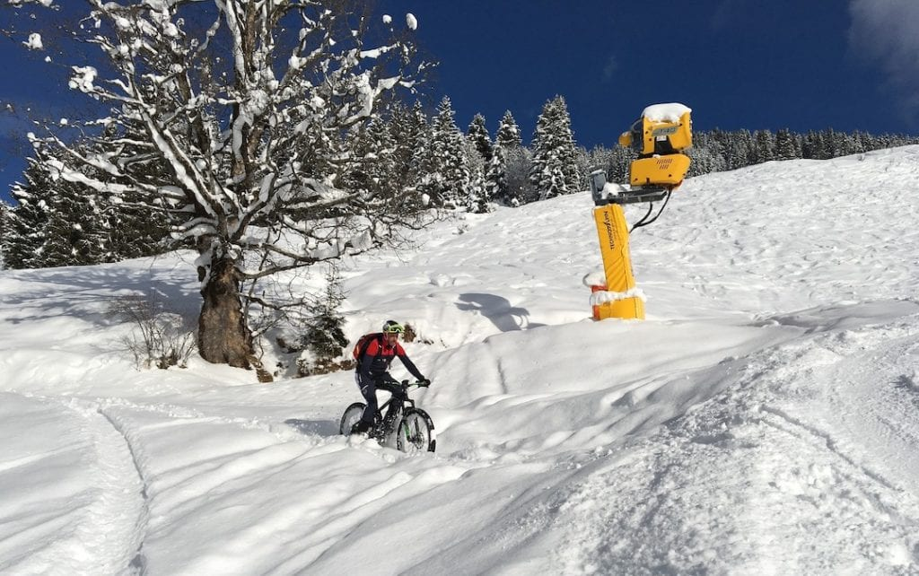 Fahrradjacke Winter Herren