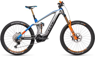 Cube Stereo Hybrid 160 HPC Actionteam 625 Nyon Fully-E-MTB-Bike